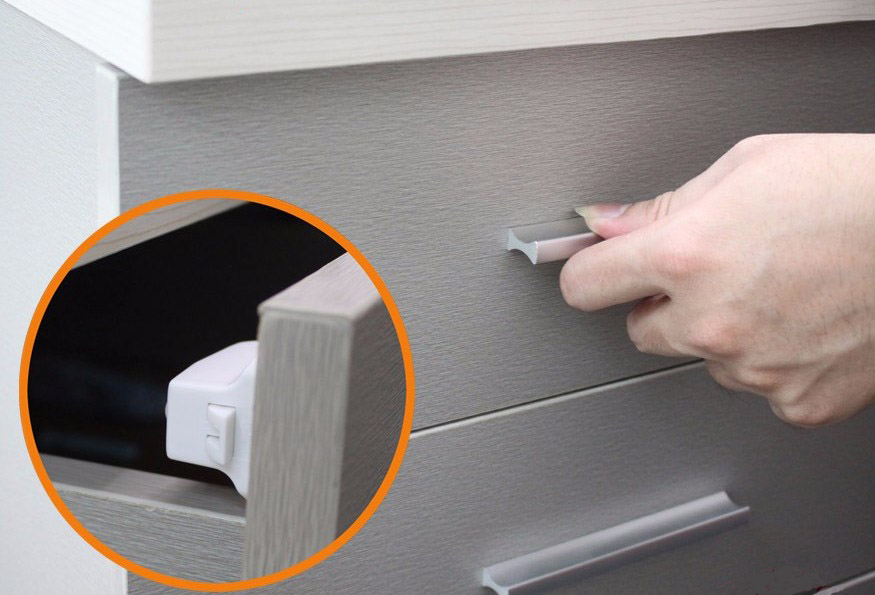 magnetic childproof cabinet locks