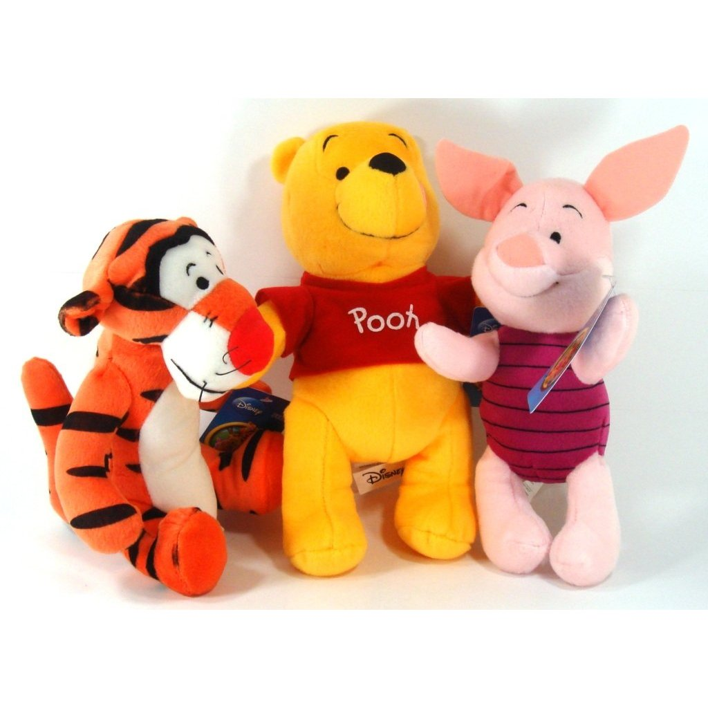 winnie the pooh, disney pixar cars, polly pocket, spiderman