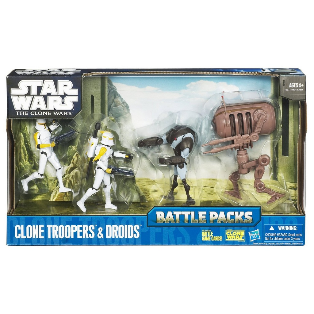 All Star Wars The Clone Wars Toys 90