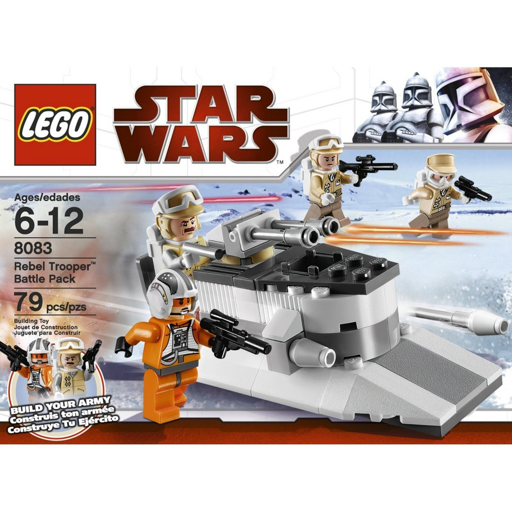 lego star wars the clone wars mini figures toys. Black Bedroom Furniture Sets. Home Design Ideas